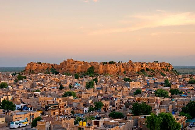 Місто Джайсалмер, Індія (1)