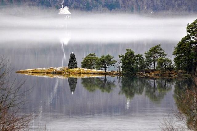Одне з найкрасивіших озер світу, озеро Хорніндальсватнет (7)