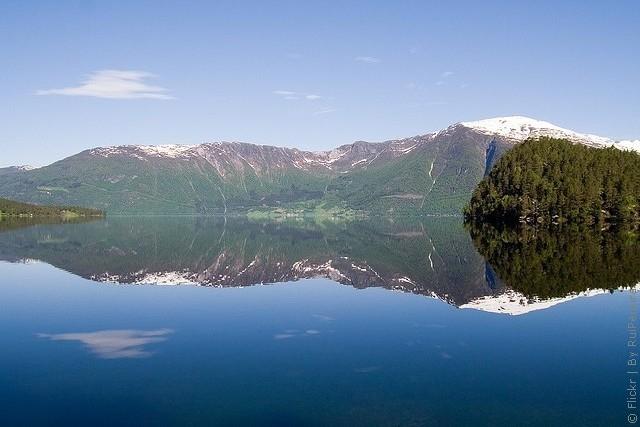 Одне з найкрасивіших озер світу, озеро Хорніндальсватнет (15)