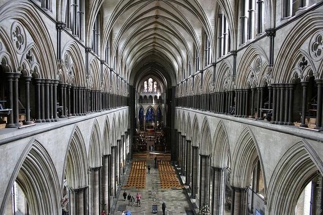 Солсберійський собор, одна з найстаріших релігійних пам'яток Великобританії (11)