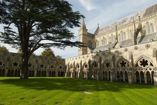 Солсберійський собор, одна з найстаріших релігійних пам'яток Великобританії (13)
