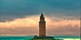 Маяк Башта Геркулеса, Іспанія (10)