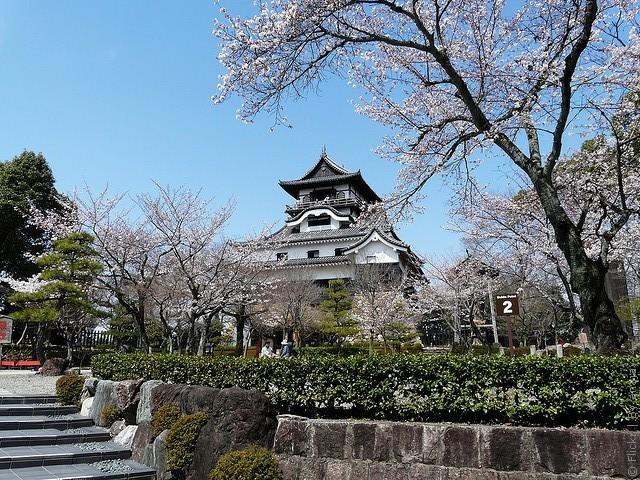 Замок білого мармуру або замок Інуяма (3)
