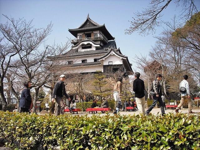 Замок білого мармуру або замок Інуяма (4)