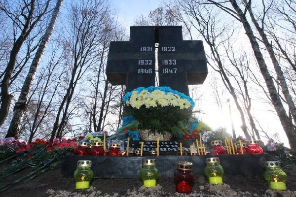 Знак пам'яті жертв Голодомору встановлений в м. Мена, Чернігівської області
