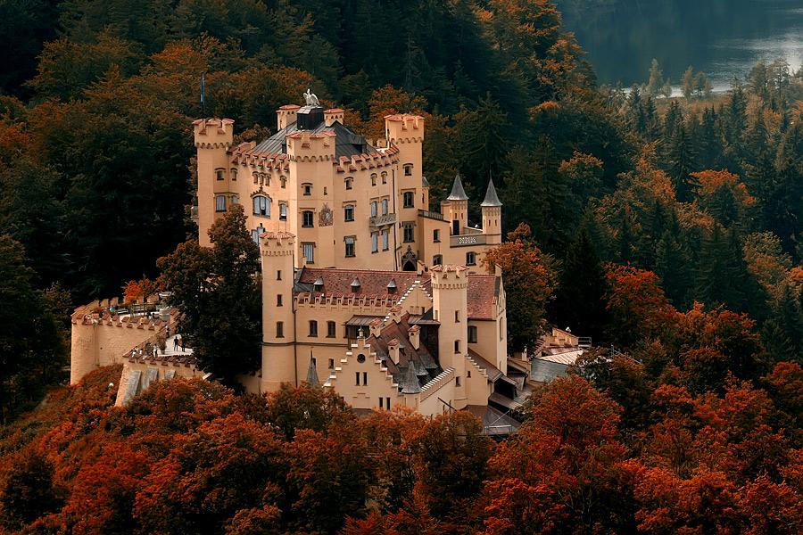 Замок Хоеншвангау, Фюссен, Німеччина. (2)