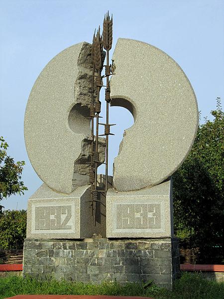 Пам'ятник жертвам Голодомору 1932-1933 років, Вишгород