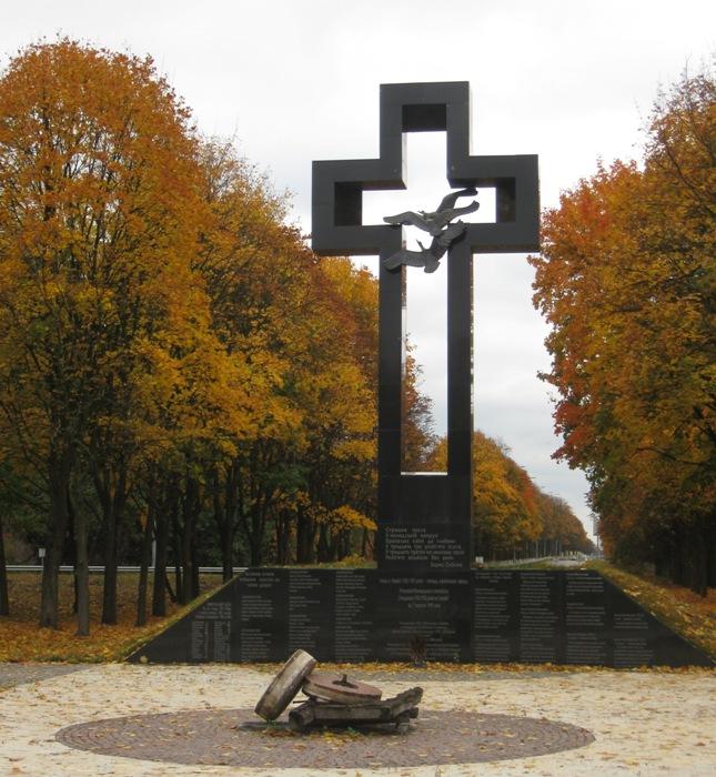 Меморіал Жертв Голодомору в Борисполі на Київщині