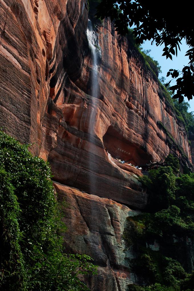 Ландшафт Денксія, кольорові гори в Китаї (7)