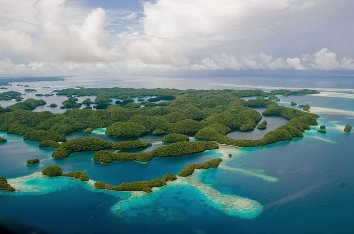 Острови Палау, справжній тропічний рай на Землі (4)