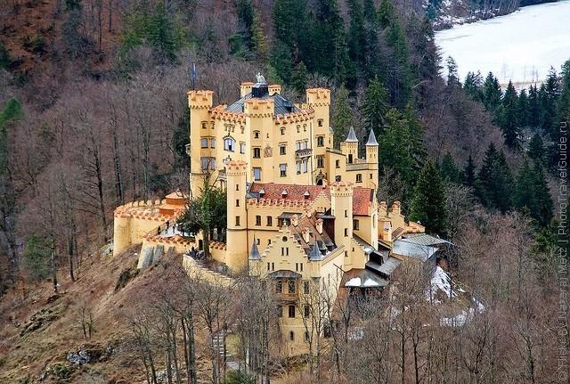 Замок Хоеншвангау, Фюссен, Німеччина. (3)