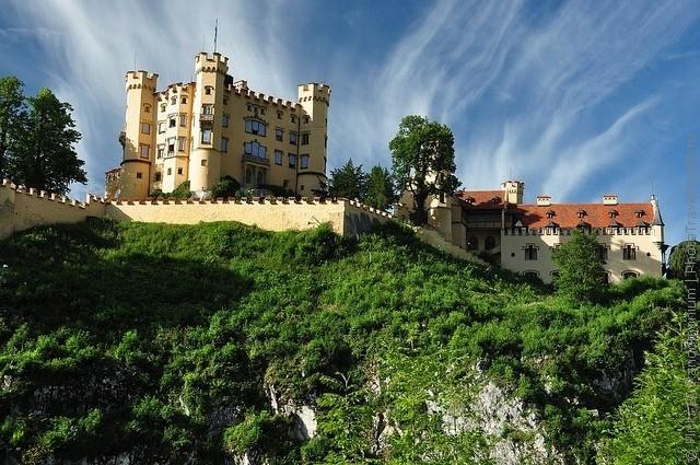 Замок Хоеншвангау, Фюссен, Німеччина. (4)