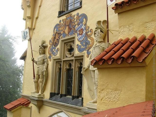 Замок Хоеншвангау, Фюссен, Німеччина. (10)