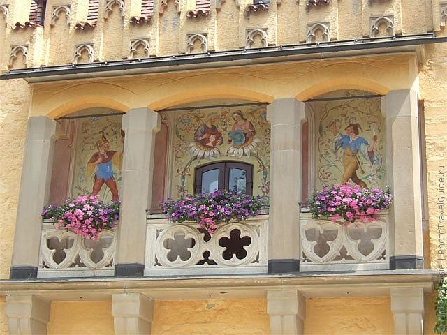 Замок Хоеншвангау, Фюссен, Німеччина. (12)