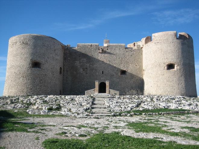 Замок Іф, один з найвідоміших замків світу, Франція (8)