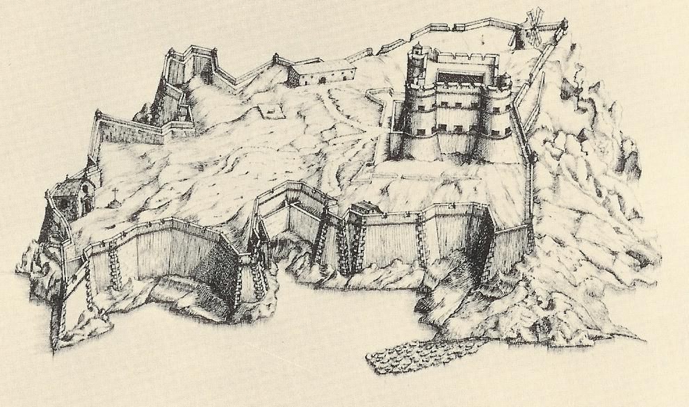 Замок Іф, один з найвідоміших замків світу, Франція (15)