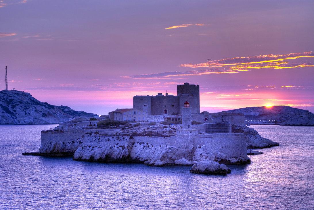 Замок Іф, один з найвідоміших замків світу, Франція (3)