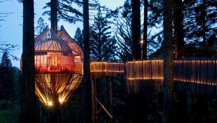 Романтичний ресторан на дереві Yellow Tree House, унікальний ресторан від PEA (19)