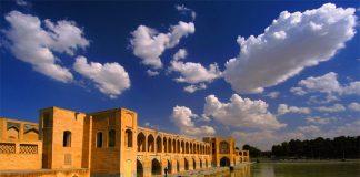 Міст Хаджу, один з найкрасивіших мостів світу Ісфахан, Іран (1)