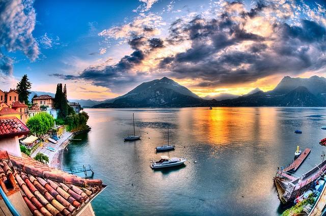 Італійське озеро Комо (італ. Lago di Como) (1)
