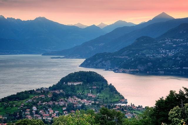 Італійське озеро Комо (італ. Lago di Como) (10)