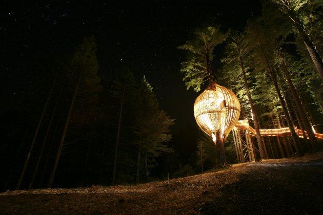 Романтичний ресторан на дереві Yellow Tree House, унікальний ресторан від PEA (4)