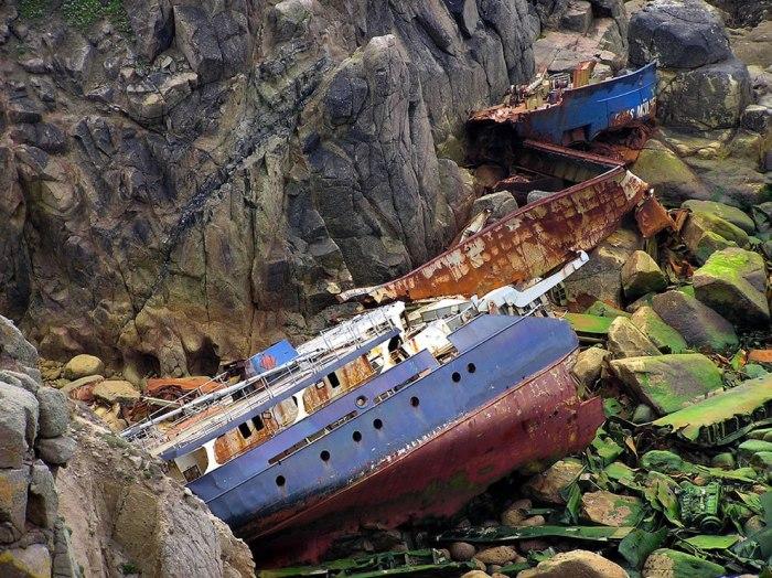 корабельні аварії, покинуті човни (8)