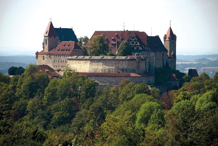 Фортеця Фесте Кобург, одна з найбільших фортець Німеччини (1)