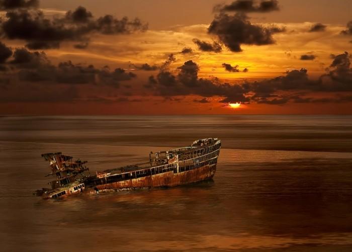 корабельні аварії, покинуті човни (20)