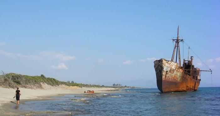 корабельні аварії, покинуті човни (30)