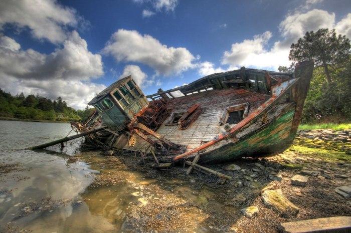 корабельні аварії, покинуті човни (34)