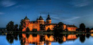 Старовинний замок Гріпсгольм, що на березі мальовничого озера Малар, Швеція (фото) (3)
