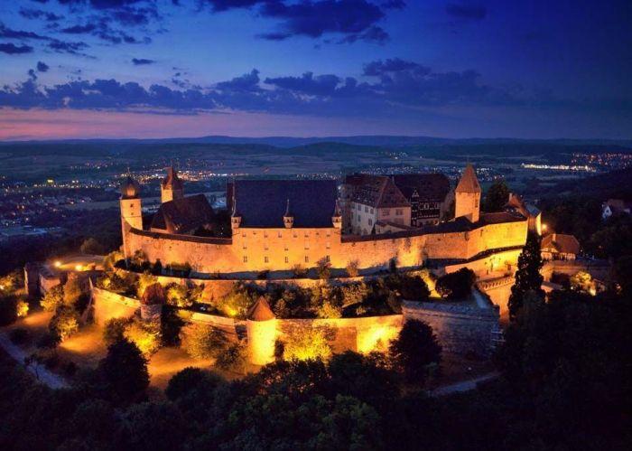 Фортеця Фесте Кобург, одна з найбільших фортець Німеччини (5)