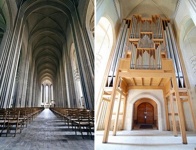 Церква Грундтвіга і її оригінальна архітектура, Данія (9)
