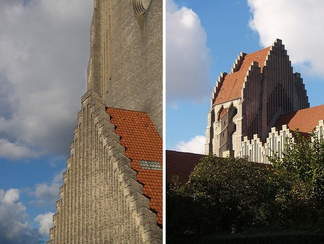 Церква Грундтвіга і її оригінальна архітектура, Данія (16)
