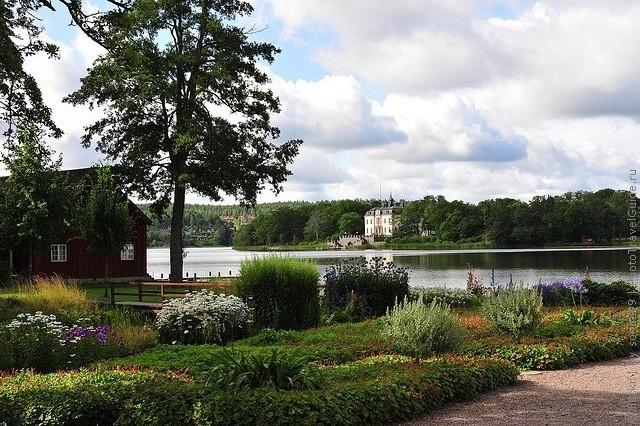 Старовинний замок Гріпсгольм, що на березі мальовничого озера Малар, Швеція (фото) (11)