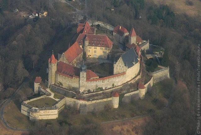 Фортеця Фесте Кобург, одна з найбільших фортець Німеччини (6)