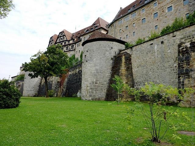 Фортеця Фесте Кобург, одна з найбільших фортець Німеччини (7)