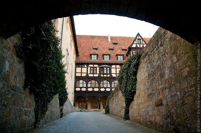 Фортеця Фесте Кобург, одна з найбільших фортець Німеччини (8)