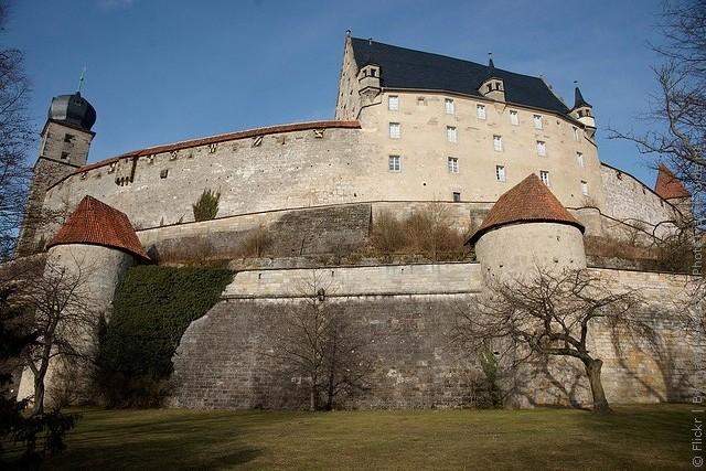 Фортеця Фесте Кобург, одна з найбільших фортець Німеччини (10)