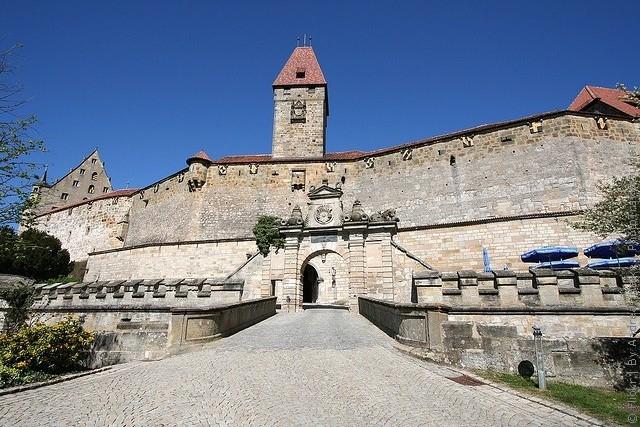 Фортеця Фесте Кобург, одна з найбільших фортець Німеччини (11)