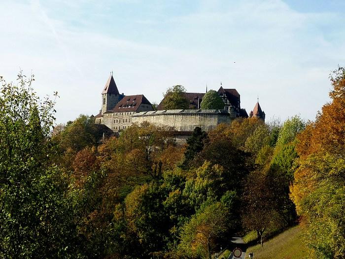 Фортеця Фесте Кобург, одна з найбільших фортець Німеччини (2)