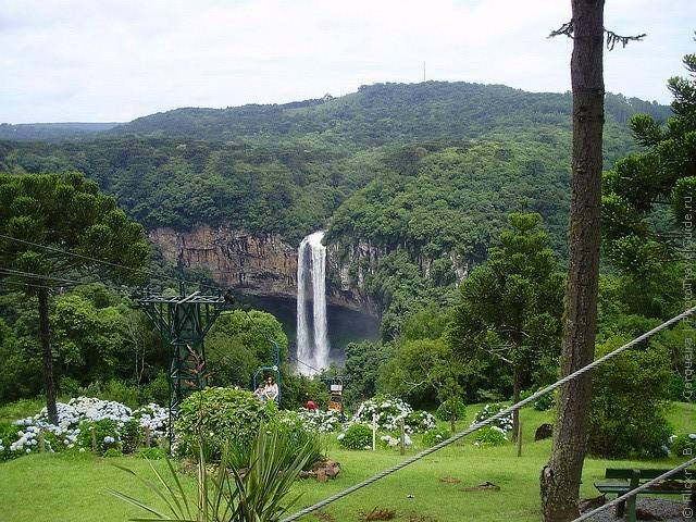 Водоспад Каракол, мальовничий водоспад в лісах Бразилії (10)