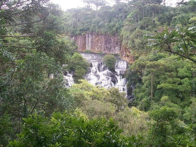 Водоспад Каракол, мальовничий водоспад в лісах Бразилії (11)