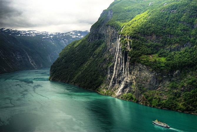Дивовижні та неповторні головні туристичні пам'ятки Норвегії (фото)