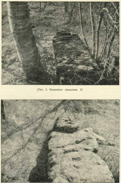 Знайдені кам'яні ідоли