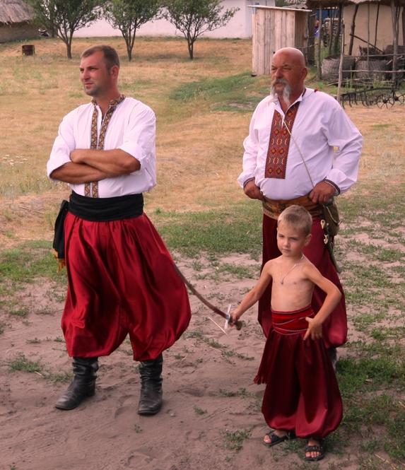 сучасні козаки. три покоління