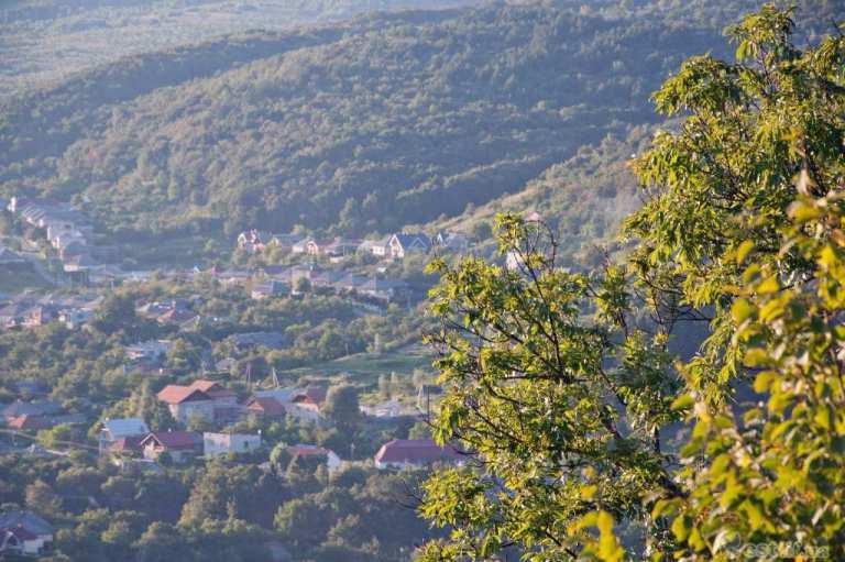 краєвид з висоти замку