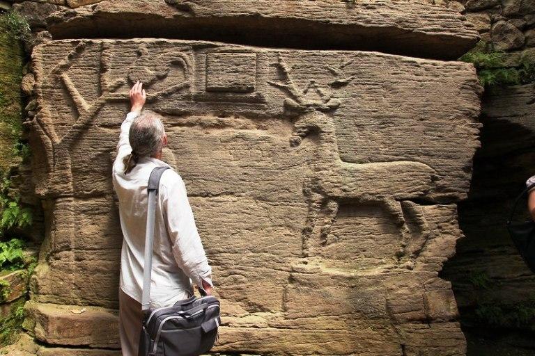 унікальний рельєф скельного храму