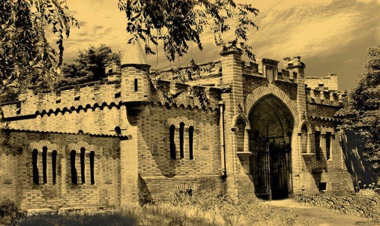 північні ворота замку